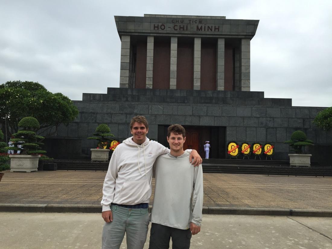 9:27 Ho Chi Minh Mausoleum Dave.JPG
